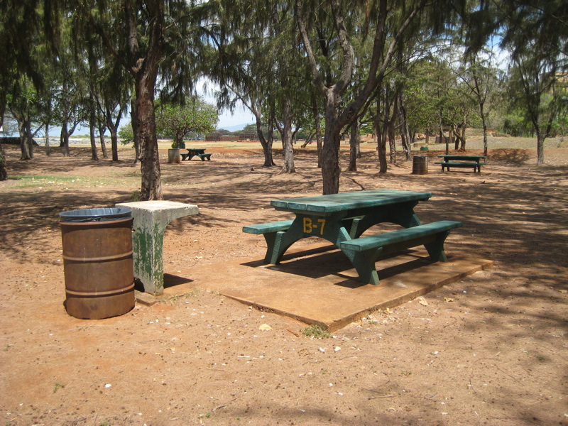 Hawaii camping reservation reservations for Oahu camping cabins