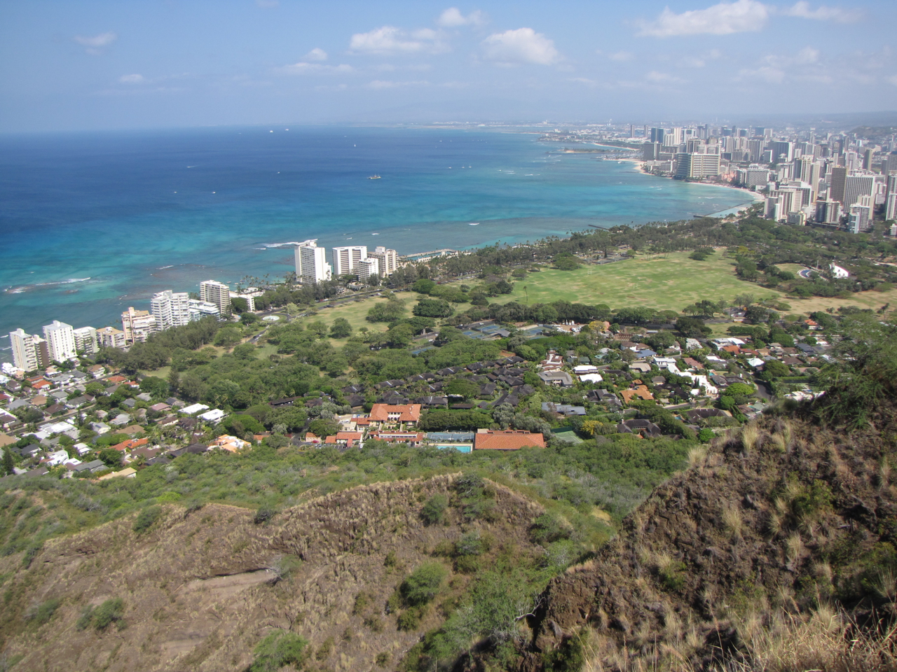 ... Picture Of Diamond Head State Monument ...